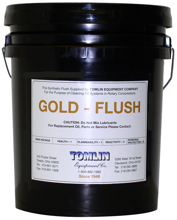 Tomlin Gold Flush - 5 Gallon Pail