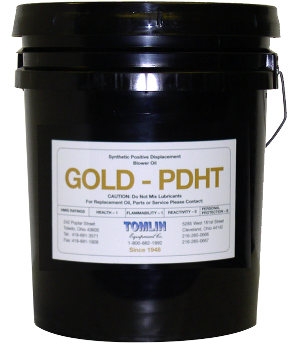 Tomlin Gold PDHT Premium Synthetic Oil - 5 Gallon Pail