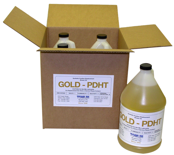 Tomlin Gold PD Premium Synthetic Oil - Case of Gallons