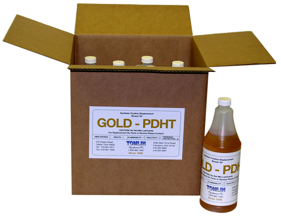 Tomlin Gold PDHT Premium Synthetic Oil - Case of Quarts